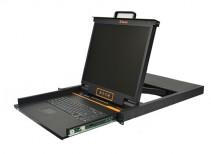 秦安-KinAn XL1908 19寸8口LED KVM控制平台