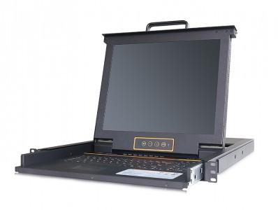 秦安-KinAn XL1708i 17寸8口LED KVM控制平台