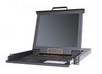 秦安-KinAn  XL1716i 17寸16口LED 数字远程KVM切换器KVM控制平台