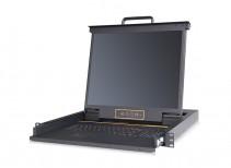 秦安-KinAn LS1901 19寸单口LED KVM控制平台