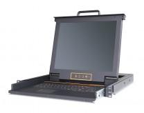 秦安-KinAn LS2701 17寸单口LED KVM控制平台