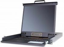 秦安-KinAn XL1716 17寸16口LED KVM控制平台