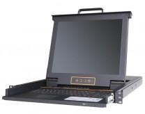 秦安-KinAn XH1708 17寸8口 USB 2.0 KVM控制平台