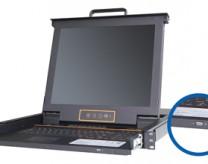 XH1701 17寸单口 USB2.0 KVM控制平台三合一液晶套件