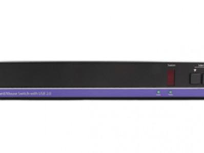 KM-0108 8-端口 KM滑屏器,支持 USB 2.0共享