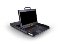 SW1701:单口17寸宽屏KVM控制台_三合一