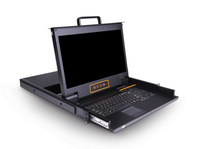 LD1708:8口17.3寸LCD高清DVI KVM控制台
