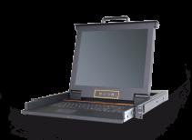LD2701:单口17寸LED高清DVI KVM控制台