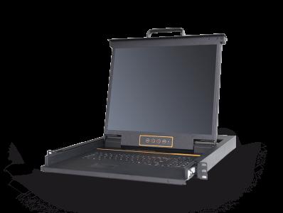 LH1901:单口19寸高清HDMI KVM控制台