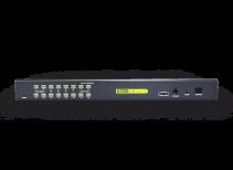 HT1116:双通道16路矩阵式高清IP KVM切换器