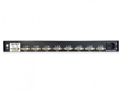 RDV108:8口USB机架式DVI KVM切换器