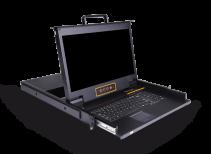 LH1801:18.5寸LCD高清HDMI KVM控制平台
