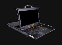 XW1716:17.3寸16口高清宽屏KVM控制台